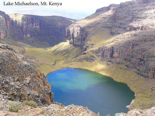 Lake Michaelson, Mt Kenya