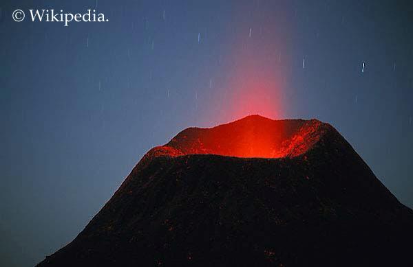 Ol Doinyo Lengai 2008 eruption